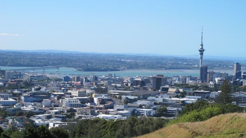 Auckland from the West Coast