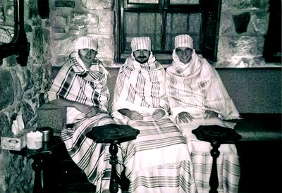 Hammam - Me (on the left) and two friends