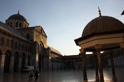 The Umayyad Mosque - Courtyard