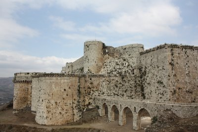 Crac des Chevaliers - Up close