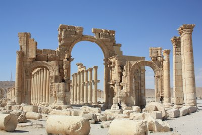 Palmyra - Monumental Gate