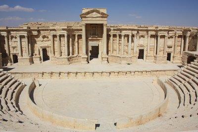 Palmyra - Amphitheatre