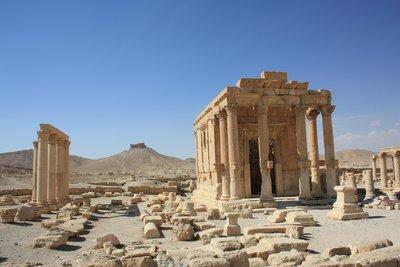 Palmyra - Citadel from afar
