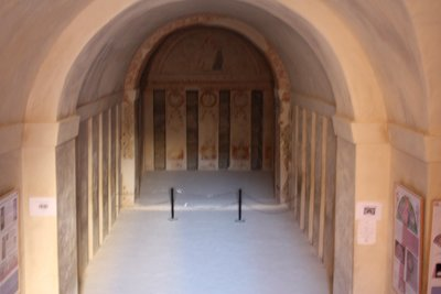 Palmyra - Hypogeum of the Three Brothers - unfortunately blurry