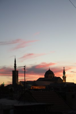 Damascus - Umayyad Mosque (from my rooftop)