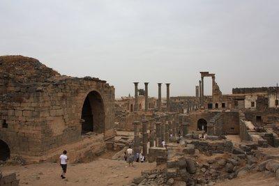 Bosra - Black Basalt Roman Ruins
