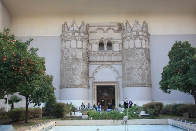 National Museum, Damascus - Facade of Qasr al-Heyr al-Gharbi