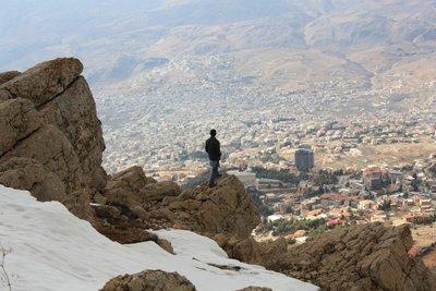 Bloudan - A rare glimt of Syrian snow