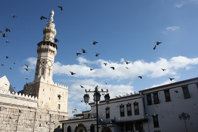 Umayyad Mosque - Outer Square