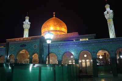 Sayyeda Zainab - Lit up at night