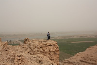Dura Europos - Looking out onto the valley below