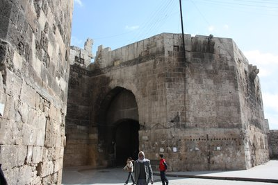 Aleppo - Entering the souq through Bab Antakya