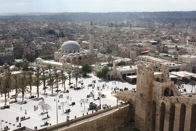 Aleppo - Citadel Square