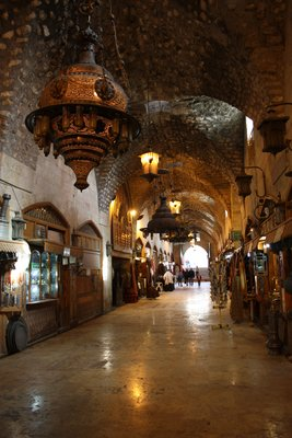 Aleppo - Khan turned into Souq