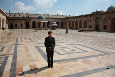 Aleppo - Umayyad Mosque Great Courtyard