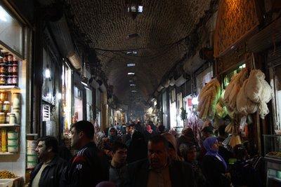 Aleppo - Souq main street
