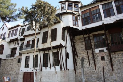 Damascus - Bab Touma Park - Old City Houses