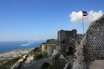 Qala'at Marqab - Castle With Mediterranean
