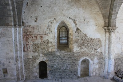 Qala'at Marqab - Chapel Frescoes