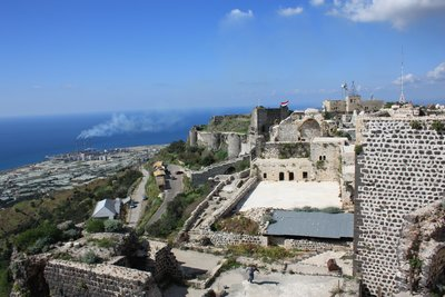 Qala'at Marqab - Castle With Mediterranean (2)