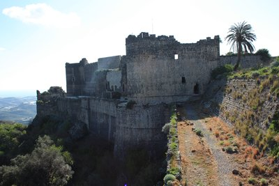 Qala'at Marqab - Massive Castle Walls