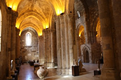 Tartous - Inside the Cathedral/Basilica of Our Lady of Tortosa