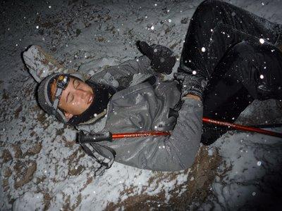 Dan on summit night