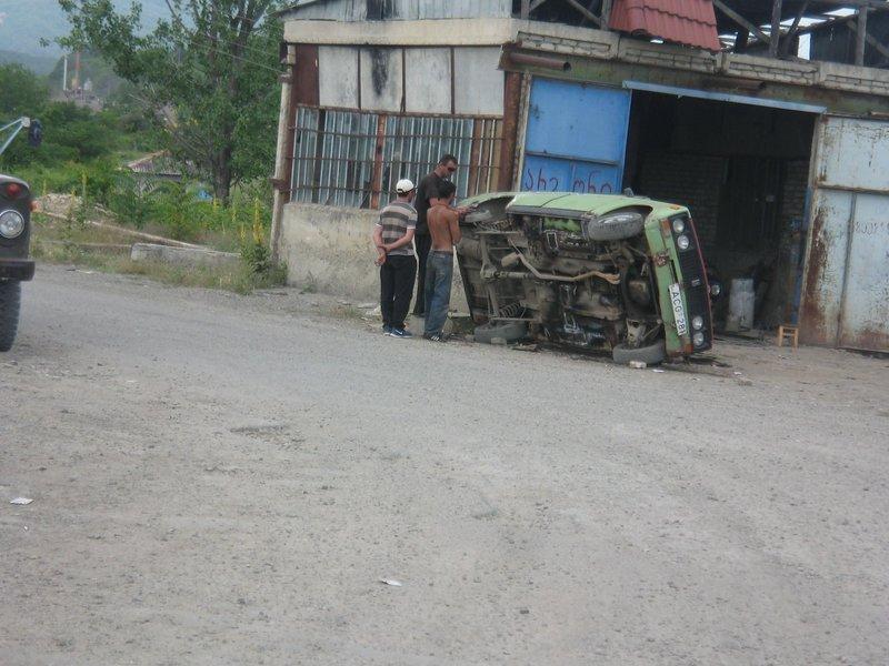 Georgian undercar repair