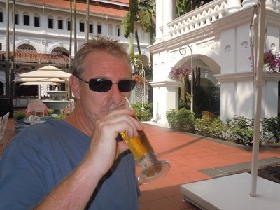 Beer at Raffles