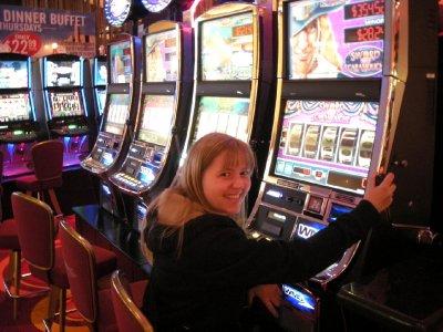 The casino!