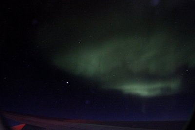 Nordlys i himmelen