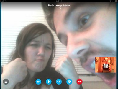 Happiness on Skype