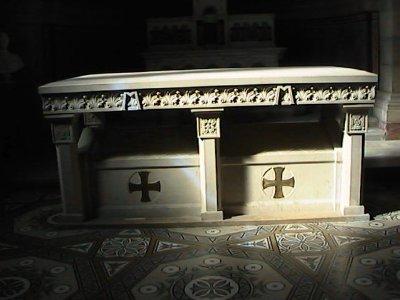 tomb of St Eugene de Mazenod