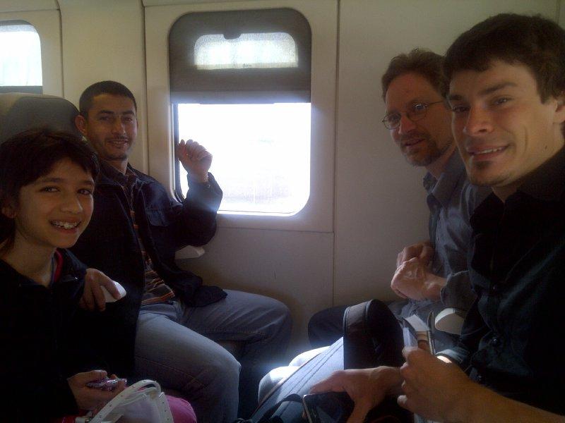 Agdal Riyad-20110408- On the way to Casablanca by train