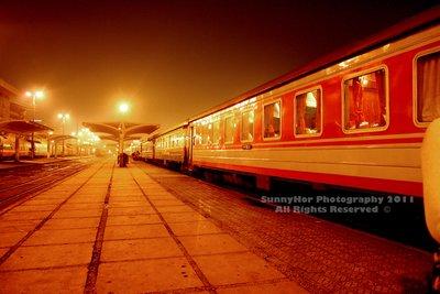 Night train to Lao cai