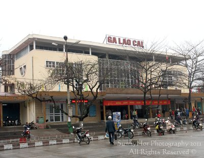 lao cai train station