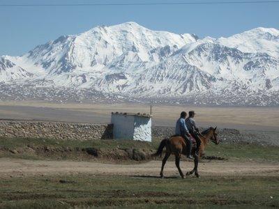 The magnificent Pamir mountain range