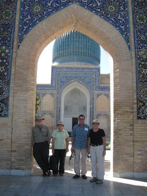 Four Kiwis in Samarqand