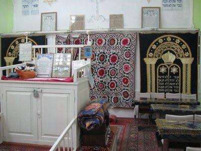 Jewish synagogue in Bukhara