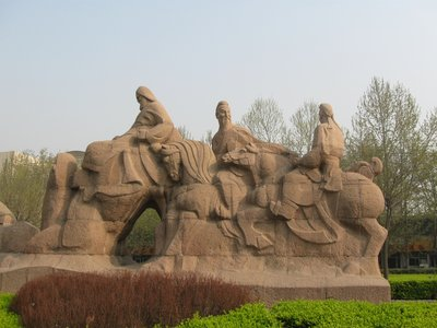 The start of the Silk Road, Xian