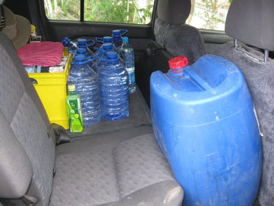 Water and diesel for the Aral Sea trip