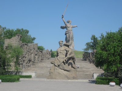 Mother Russia, Volgograd, Russia