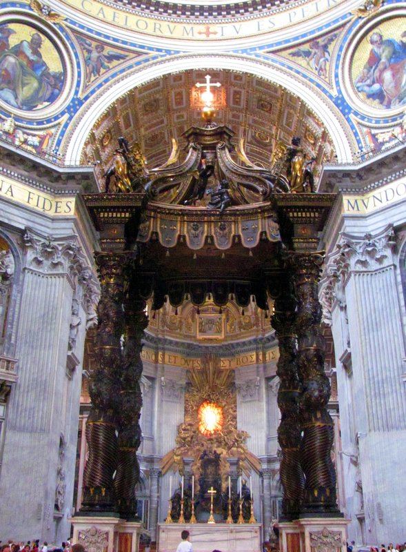 The Vatican City, St. Peter's Basilica