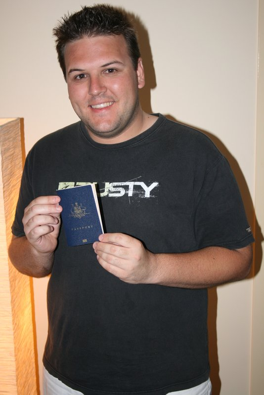 My first Passport at 22