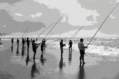 Surf fishing South africa