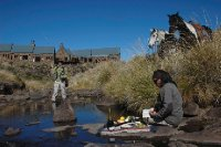 Fly fishing and pick nick Rhodes South Africa