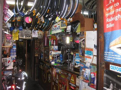 Inside the best bike shop that I`ve ever known..!