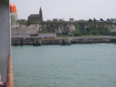 Arriving at Diepe harbour
