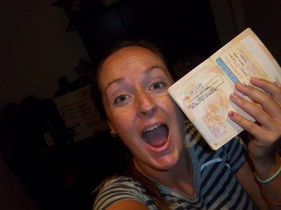 Got my visa!!!