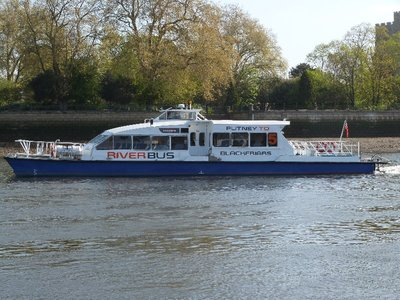 Putney to Blackfriars Ferry London